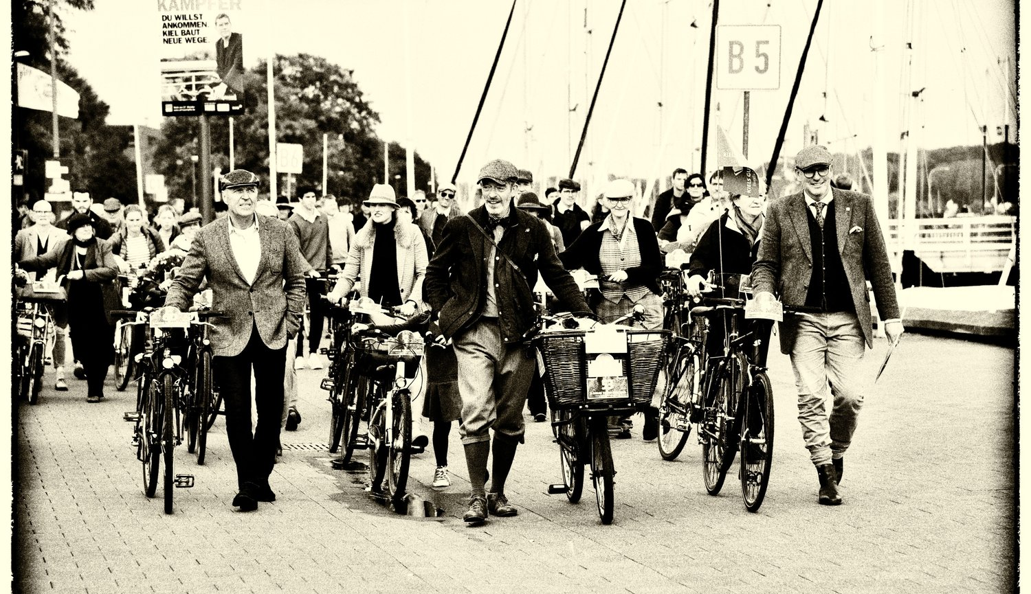Kieler Tweed Run, Kiels gute Adressen, DECKER DESIGN